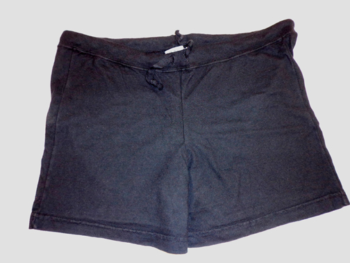 Set of Two Scrub Shorts - L - Black