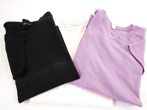 Set of Two Short Sleeve Tees - M - Purple