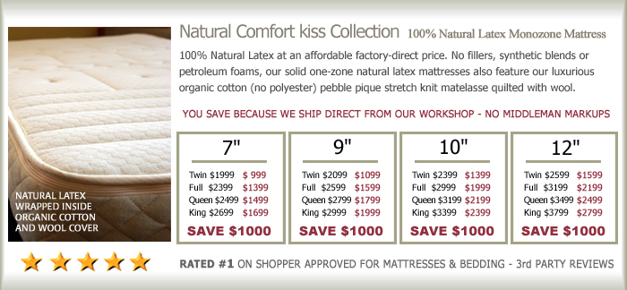 natual latex kiss collection