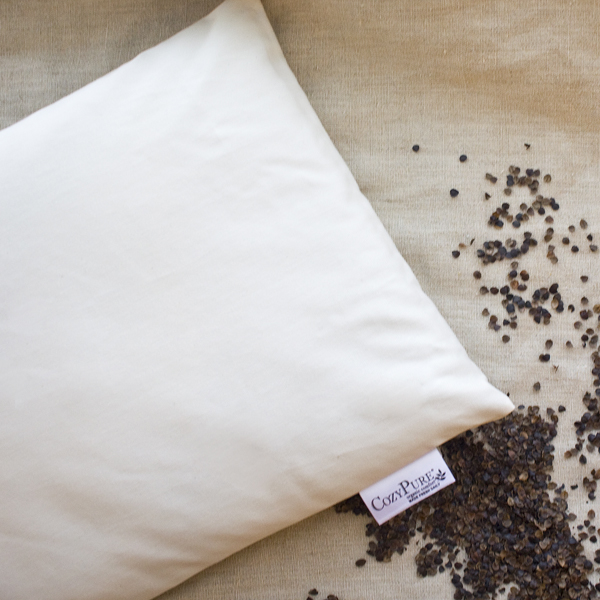 Organic Buckwheat Sleep Pillow