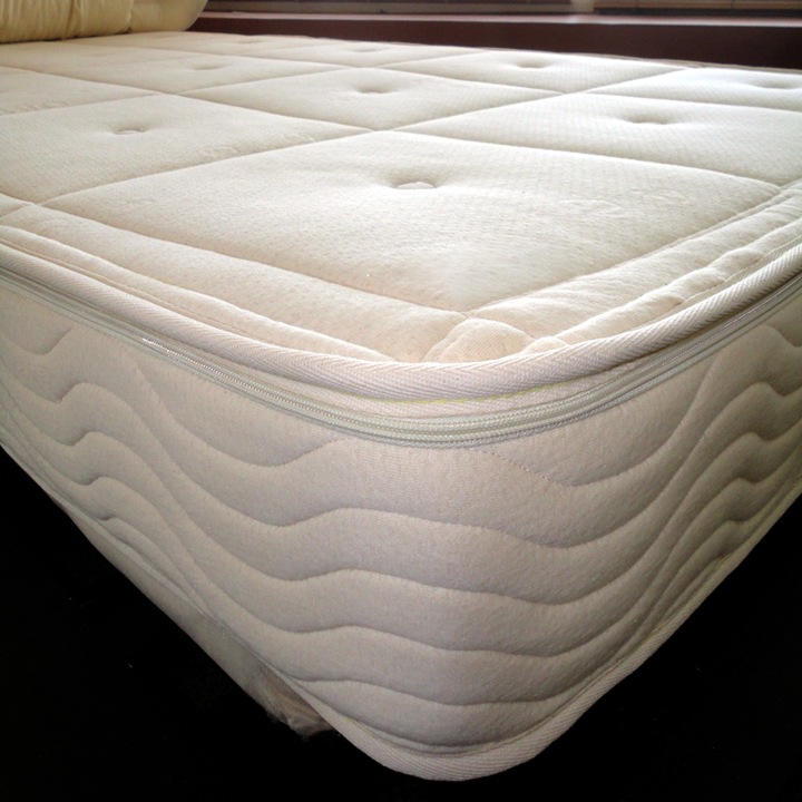Pure Performance Core Support Natural Latex Organic Mattress with 5-Zone Latex Core