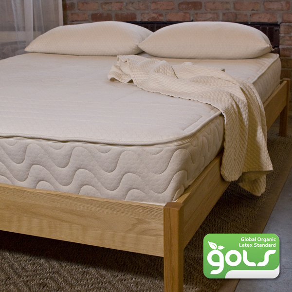 "9"" Pure Performance CUSH Natural Latex Organic Mattress with 6"" Zoned Latex Core + 2"" Sculpted Latex Layer"