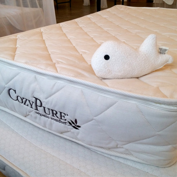 CozyPure Baby Natural Latex Organic Crib Mattress