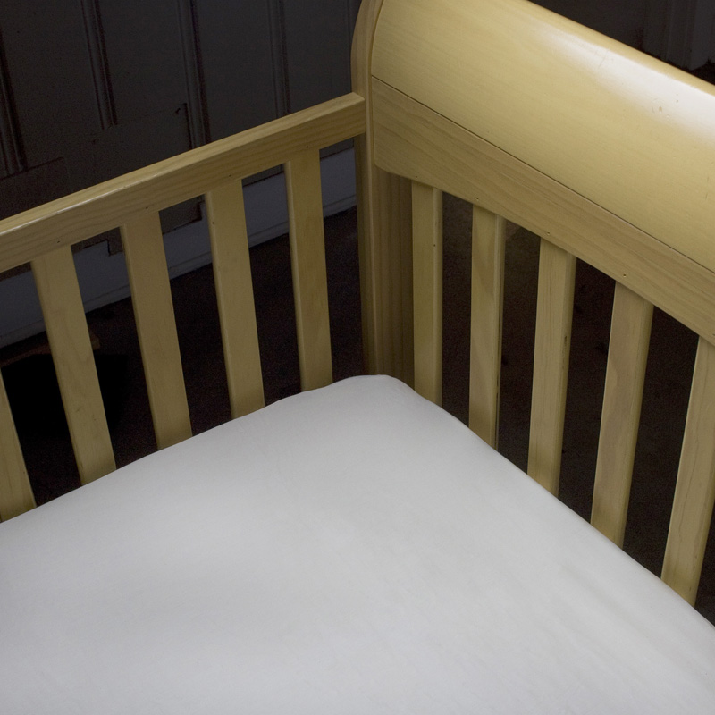 Organic Cotton Percale Crib Sheet