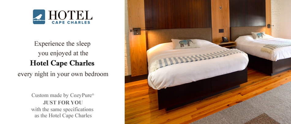 Hotel Cape Charles - Luxury Boutique Sleep Package