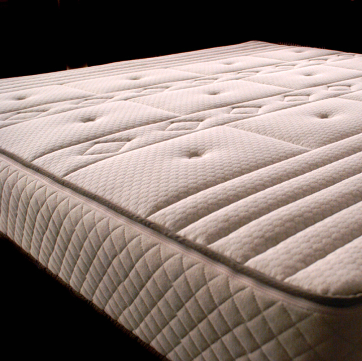 "Custom Cozy Pure Performance PLUS Natural Latex Organic Mattress with 5-Zone Core plus 3"" Custom Comfort Latex Layer"