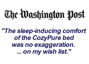 Washington Post CozyPure organic mattress review