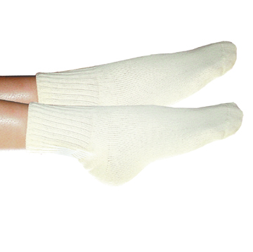 Organic Cotton Cushioned Anklet Sock