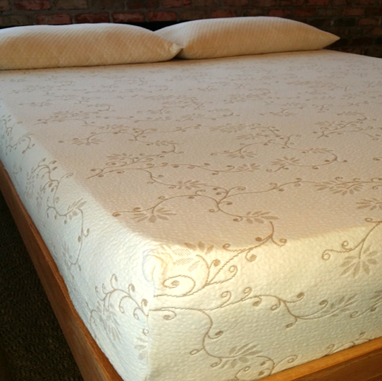 DeVINE Organic Cotton Stretch-Knit Mattress Protector