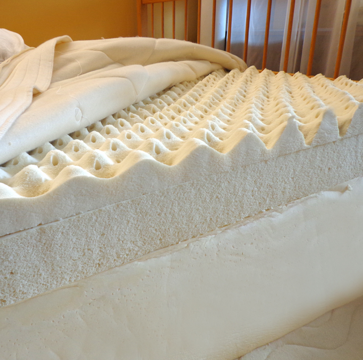 "12"" Natural Comfort kiss Mattress- made with 100% Natural Latex"