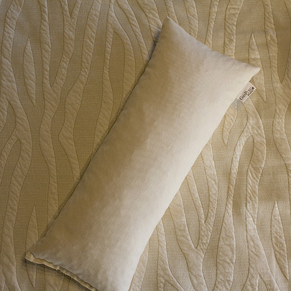 Lumbar-Neck Organic Pillow with Pillow Case