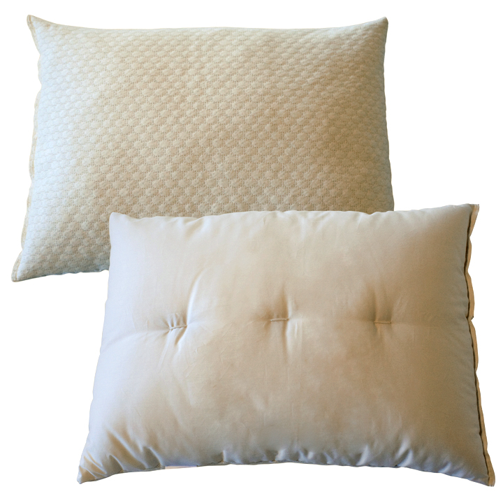 Baa-Noodle Latex-Wool Customizable Pillow