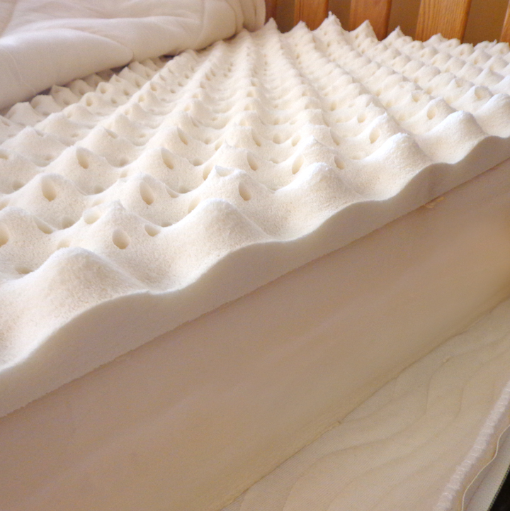 "9"" Organic Comfort zone Mattress- made with 100% Organic Zoned Latex"