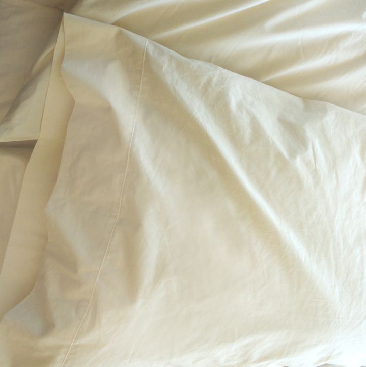 Organic Cotton 280TC Sateen Pillowcases - Made in the USA
