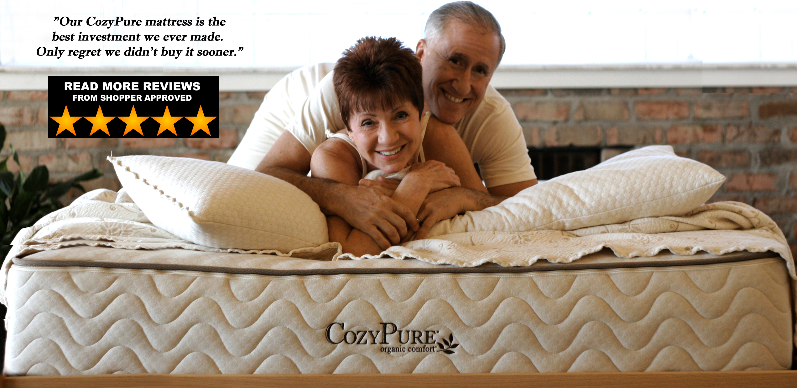 CozyPure organic mattress review