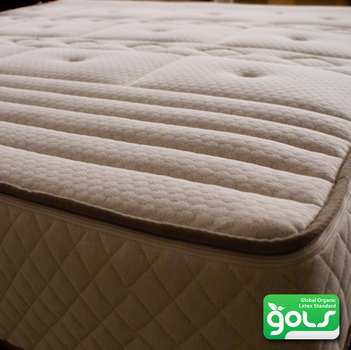 "12"" Organic Comfort zone Mattress - made with 100% Organic Zoned Latex"